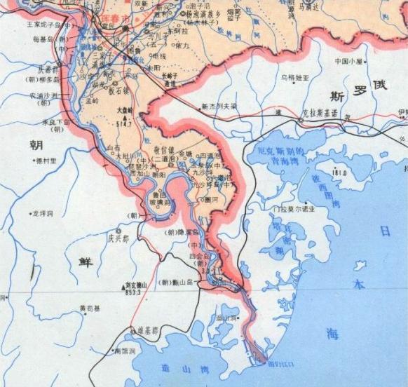 中国东北出海口_中国东北有出海口吗???_百度知道