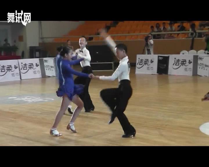 场舞_请问这是哪场拉丁舞比赛?_百度知道