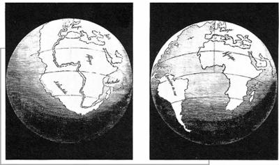 大陆漂移学说基本内容