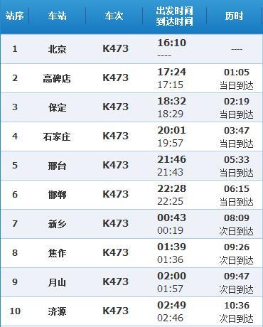 k527次列车时刻表_k473次列车北京到贵阳经过哪些地方_百度知道
