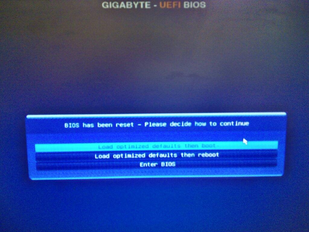 新买的一个主板和硬盘,开机后提示GIGABYTE-UEFI BIOS_百度知道