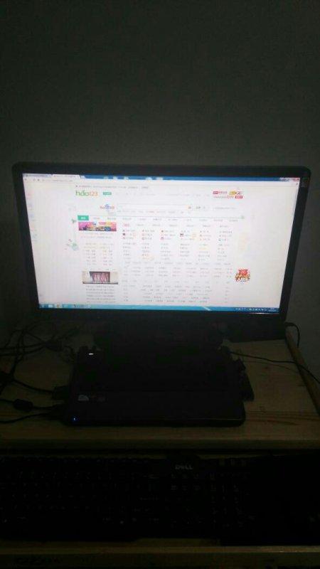 神舟战神z7通过hdmi外接24寸的显示器效果怎