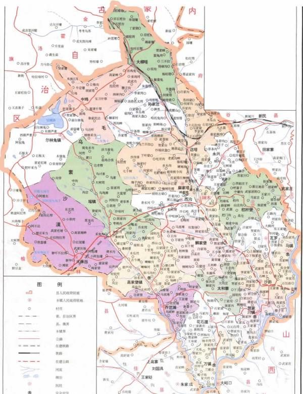 浘_谁有神木县的地图_百度知道