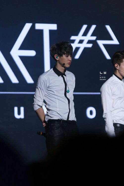 EXO二巡演唱会图片