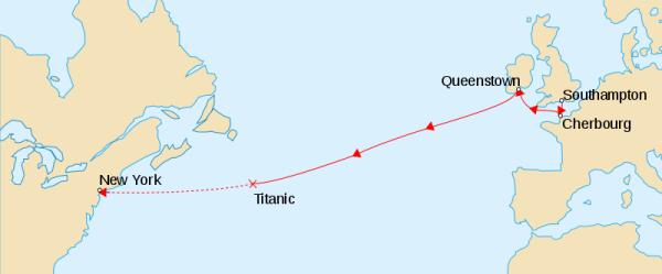 泰坦尼克号沉没地点_泰坦尼克号沉没地点是哪里?有没有具体的标记地图。_百度知道