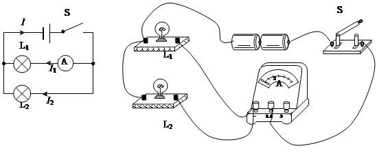 并联电路中一条支路中的开关断开时,另一条支路中电流的变化情况是什么?