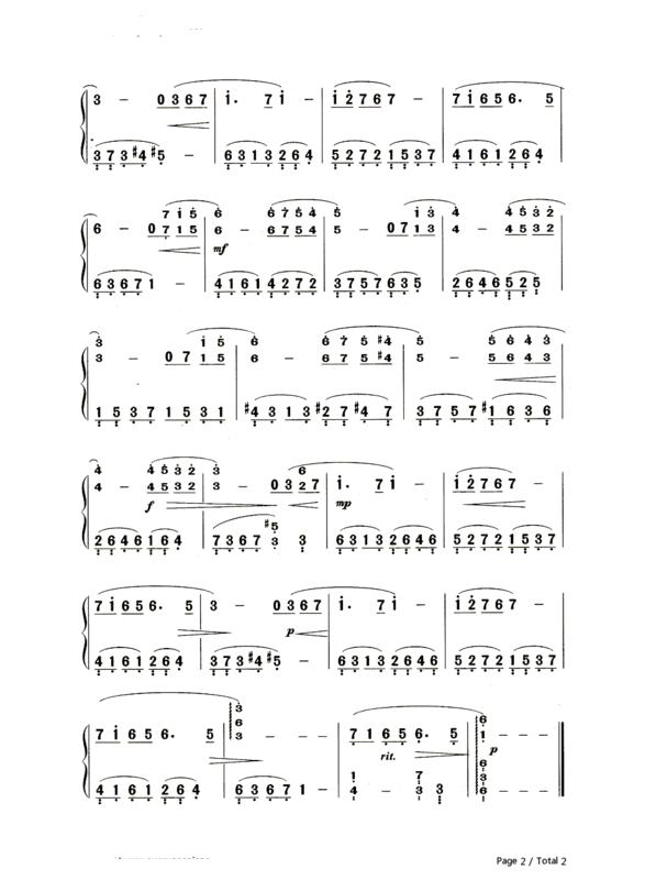 最简单的简谱_爱很简单古筝曲谱 歌谱网