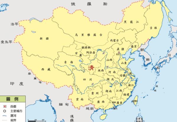 中国朝代排序