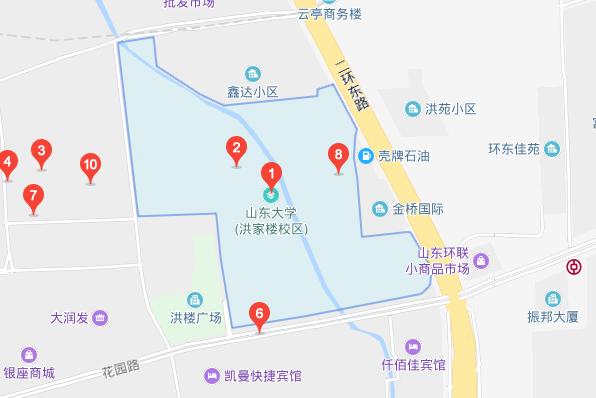 济南邮编_山东大学在济南有几个校区,分别是在什么地方_百度知道