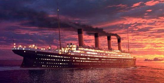 泰坦尼克号沉没地点_泰坦尼克号沉没的时间是哪一年?_百度知道