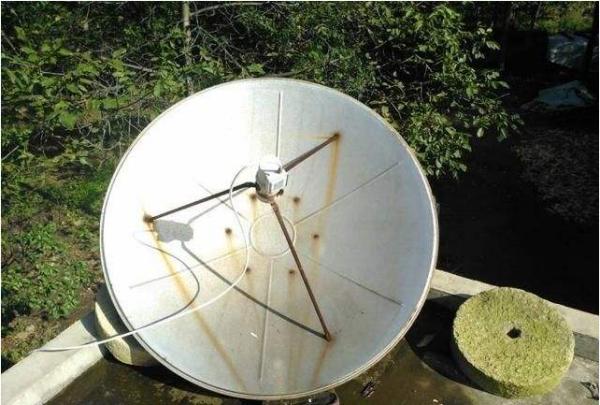 卫星锅高频头_大锅卫星怎么调试。_百度知道
