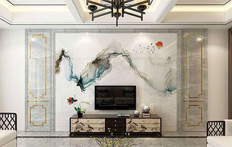 全屋简约大气,电视墙如何打造可以增添视觉美感冲击?