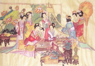 古代宫中诗词. 形容古代宫女在宫中冷清、寂寞的诗