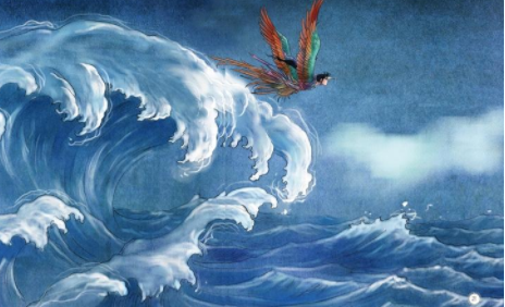 精卫填海是神话故事_中国上古神话故事有什么?分别是那些拍为电视剧?_百度知道