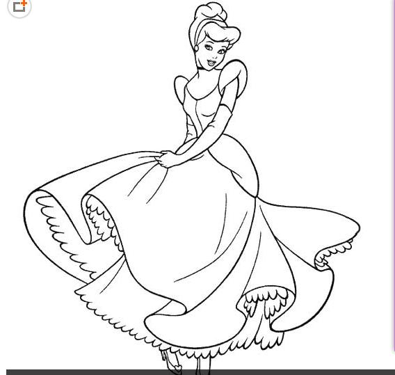 灰姑娘的连环画简笔画怎么画
