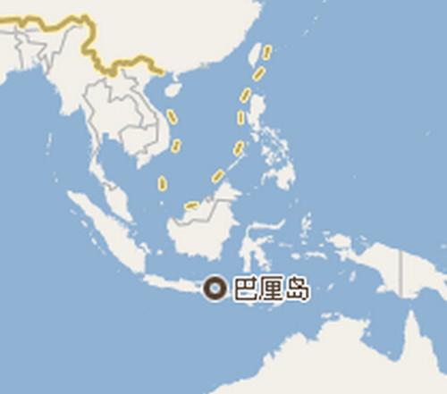 瓦窯天氣預報_巴厘島在哪個國家距中國多遠