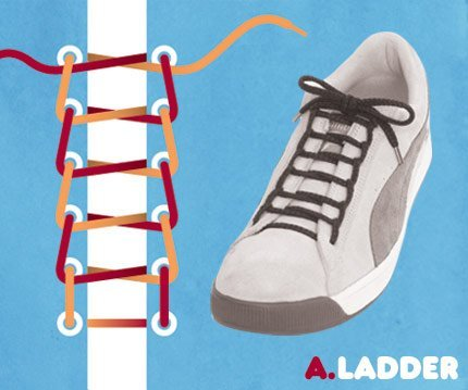 如何一秒绑鞋带