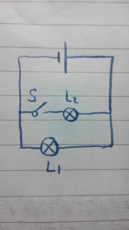 初三物理,求电路图画法