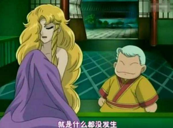 巴得利奥西游记tv_有一部日本版的西游记动画片..里面的唐僧的是女的.有一头金黄 ...