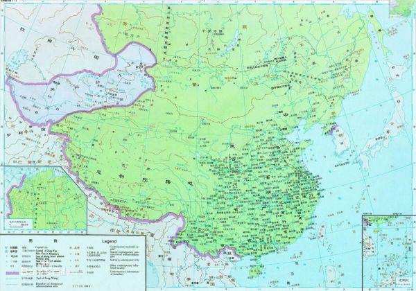 全盛时期元朝地图_求忽必烈全盛时期的地图及土地总面积_百度知道