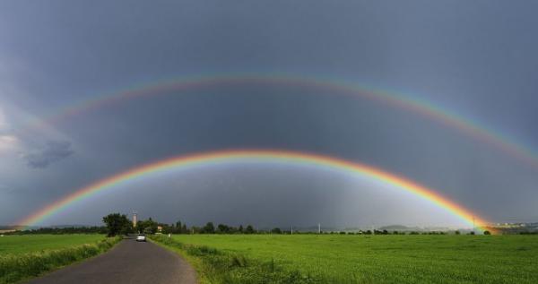 內黃 天氣預報_早晨天空中出現彩虹說明是什么天氣