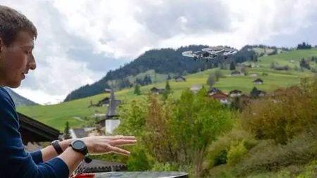 有时候,控制无人机就是握握拳头这么简单的头图