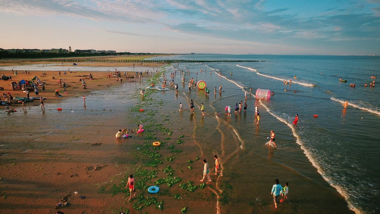 日照游,海边惬意的生活-图片