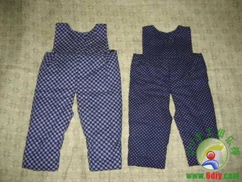 婴儿棉裤裁剪方法与制作图片