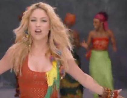 2010年南非世界杯主题曲_求 2010年世界杯主题曲 哇咔哇咔夏奇拉后面黑人伴舞的教学视频 ...