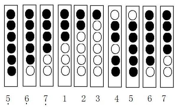 六孔竖笛教学_音乐简谱中的7和8用六孔竖笛怎么吹?_百度知道