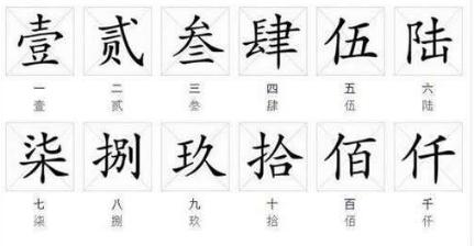 数字表示汉字_数字繁体字怎么写_百度知道