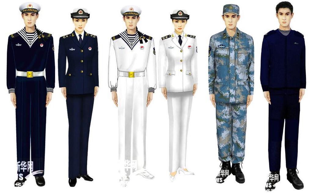 海军服装_海军服装都有哪些?请配以图片,谢谢。_百度知道