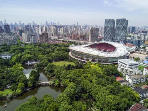 场_上海虹口足球场12号看台在什么位置_百度知道