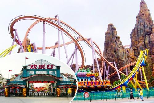 上海欢乐谷团购票_上海欢乐谷攻略_百度知道