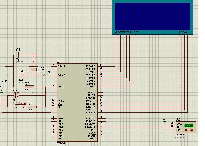 色肉囹�a��(�-c_求基于51单片机的数字温度计的设计 单片机at89c51 测温传感器使ds