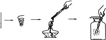 细铁丝在氧气中燃烧_如图所示是铁丝在氧气中燃烧的全过程.请回答下列问题:(1 ...