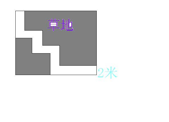 一块长方形苗圃的长_下面是一块长方形的草地,长方形的长是18米,宽是12米,中间有一条 ...