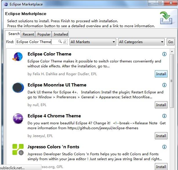 如何为Eclipse安装主题_百度知道