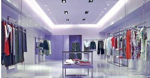 女服装店如何简单装修效果图