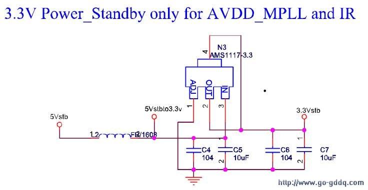 关于ams1117 3.3的电路图_百度知道