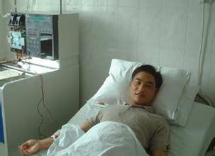 求幾張男病人住院在病床上的照片圖片