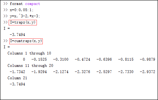 请问matlab trapz函数用法???????_百度知道