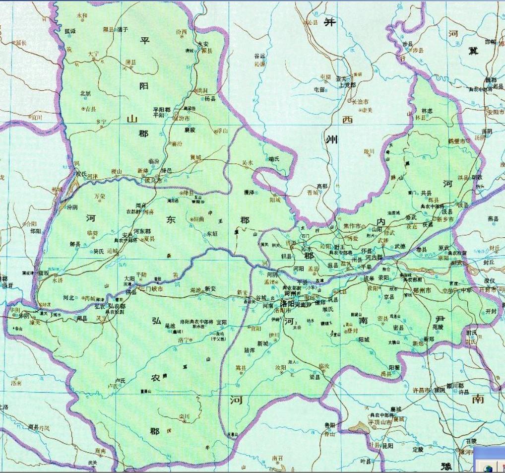 谁有东汉末年司州的高清详细地图啊