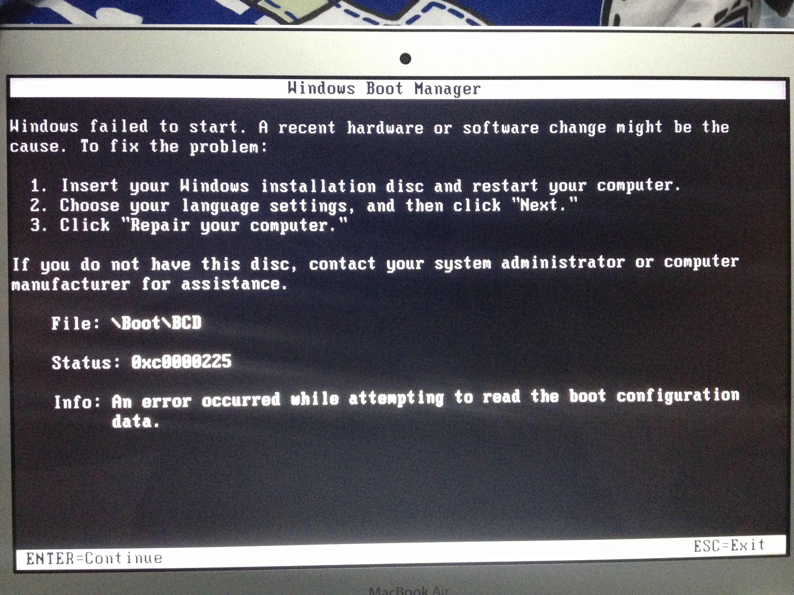 苹果本分区后出现no bootable device insert boot disk and