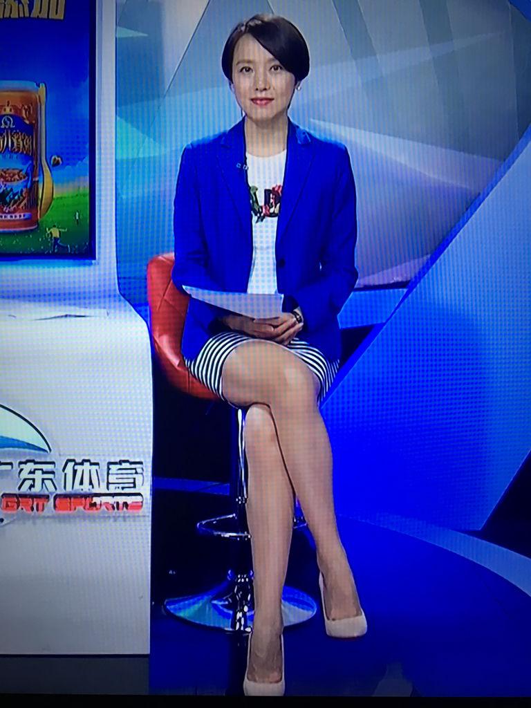 廣東體育頻道鄭怡有女人味嗎?氣質如何?圖片