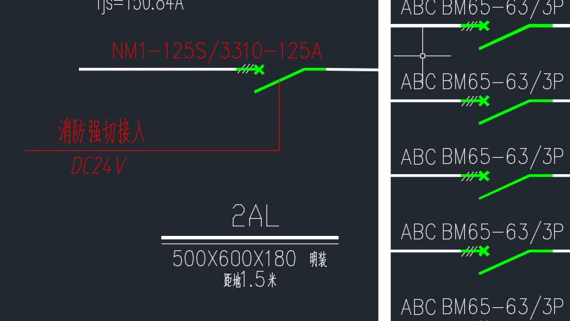 什么是分励脱扣器_电气系统图加消防强切怎么画_百度知道