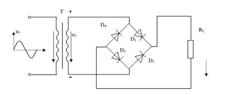 桥式半波整流电路_什么是单相桥式整流电路?_百度知道