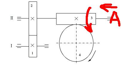 图示两级斜齿轮圆柱
