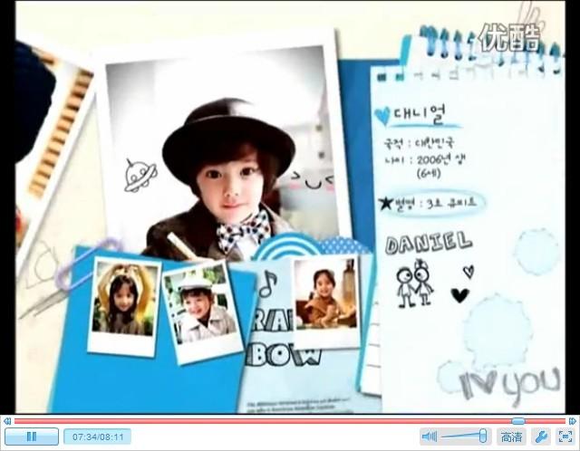 韩国综艺节目彩虹幼儿园的节目片尾曲是什么歌