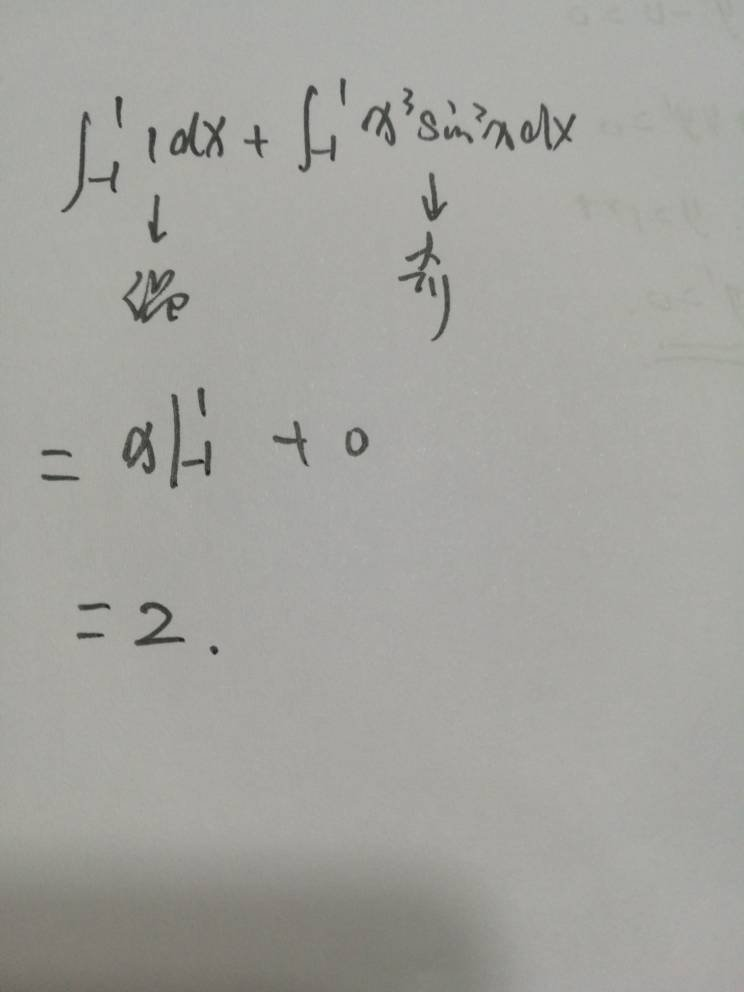 (1-sin^3*x)dx